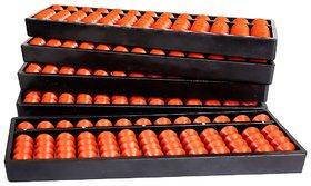 Aadithya Corp -13 ROD Brown Abacus kit - Set of 5