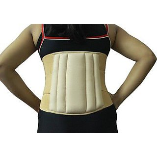 Kudize Lumbar Sacral (L.S.) Belt Brace Chronic Mild Lower Back Pain Injuries Abdominal Belt - S