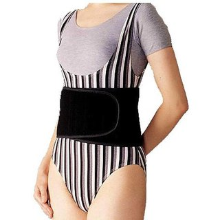 Kudize Advance Abdominal Belt Neoprene Deluxe Black - Large