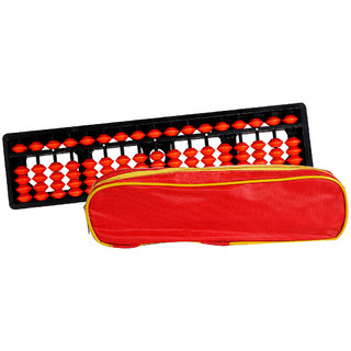 Aadithya Corp -17 ROD Brown with Pouch Abacus kit  - Set of 2