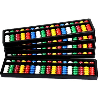 Aadithya Corp -17 ROD MultiColour Abacus kit  - Set of 5