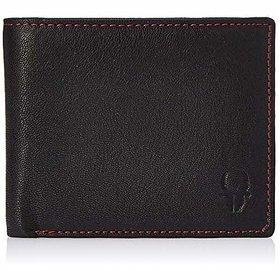 WildHorn Black Mens Wallet (WH201)