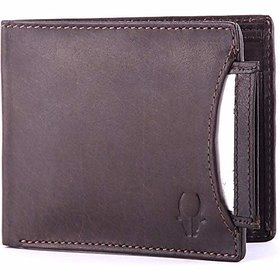 WildHorn WH266 Brown Mens wallet