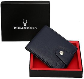 WildHorn Blue Mens Wallet (WH275B)
