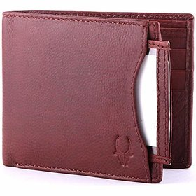 WildHorn Red Mens Wallet (WH267)