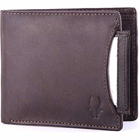 WildHorn WH266GW Brown mens wallet