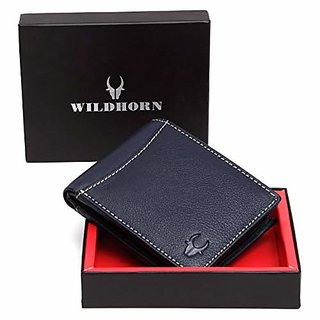 WildHorn Blue Mens Wallet