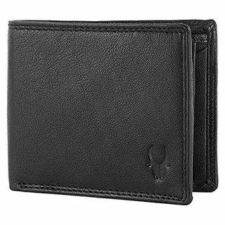 WildHorn Black Mens Wallet (WH2005)