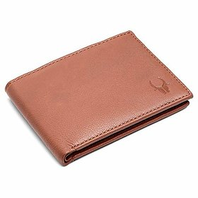 WildHorn High Quality RFID Protected 100 Genuine Leather Wallet for Men Tan