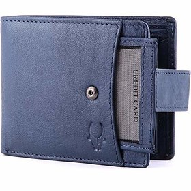 WildHorn Blue Mens Wallet (WH271GW)