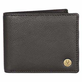 WildHorn Black Mens Wallet (WH2051 Black)