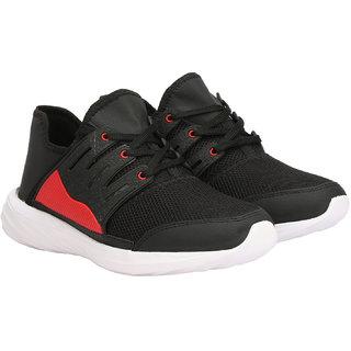 Rimoni Men's Black Sports Shoes