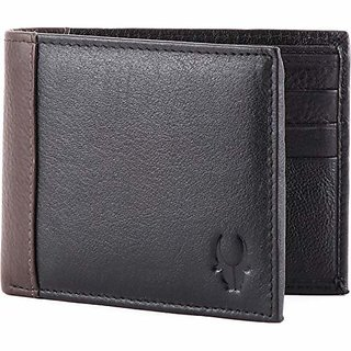 WildHorn Black Mens Wallet (WHGW13)