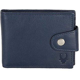 WildHorn wh675 Blue mens wallet