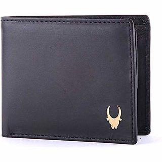 WildHorn Black Mens Wallet (WH260GW)