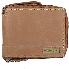 WildHorn Tan Mens Wallet (WH1217)