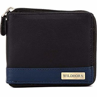 WildHorn Black Mens Wallet (WH400GW)