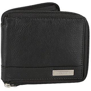 80e173a8b98 Buy WildHorn Genuine Leather Black Mens Zipper Wallet Online - Get 64% Off