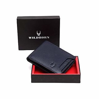 WildHorn Blue Mens Wallet (WH1251)