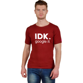 Google It | Graphic Printed T-Shirt | Half Sleeve Round Neck Cotton T-Shirt