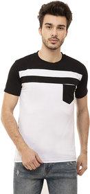 Ample White  Casual Men's T-Shirt
