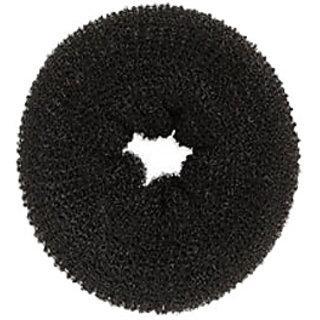 Hair Donut  Black Set of 2 pc