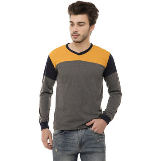 Ample Drak Gray  Casual Men's T-Shirt