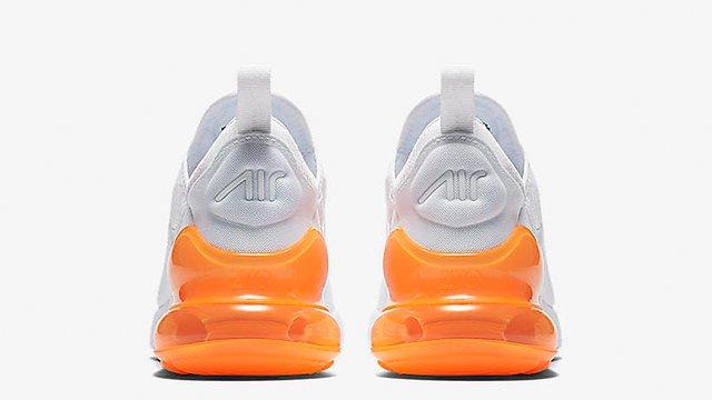 Running White 270 Air Max Nike Shoe 92DHEI
