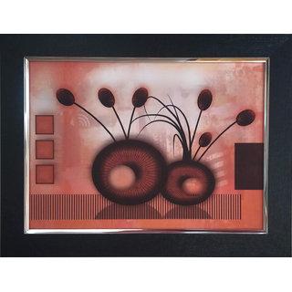 Art collection Wood, Acrylic Photo Frame  (Multicolor, 1 Photos)