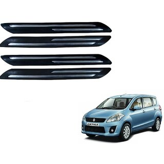 Auto Addict Double Chrome Bumper Protector Set of 4 Pcs For Maruti Suzuki Ertiga