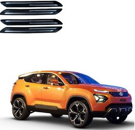 Auto Addict Double Chrome Bumper Protector Set of 4 Pcs For Tata H5X