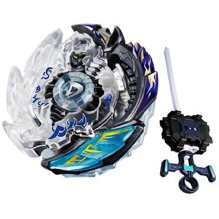 PlasToPaid Beyblade Burst B85 Killer Deathscyther.2VHn Booster Spinning Top with Launcher Toy Set