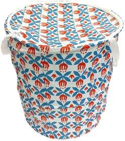 BcH More than 20 L Multicolor Laundry Bag (Cotton)