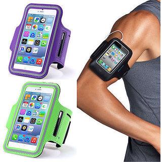 KSS  Sports Running, Gym Anti-slip Ultra-Light Weight Armband Mobile Holder All Smartphone