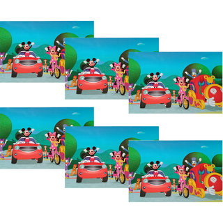 3D Placemats Tableware Pack of 6 by Welhouse India