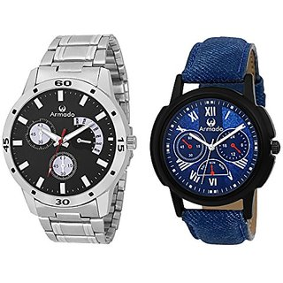 Armado AR-BLK-7113 Stylish Analog Watches- for Men