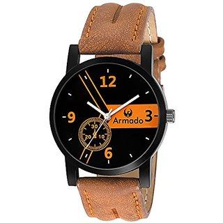 Armado AR-063 Unique Analogue Brown Dial Mens Watch