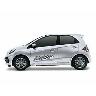 DaTeen Mid/Small Size Universal Rally Sport Styling Car Graphics 2 Side Decal Body