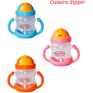 Toys Factory Latest Style or Attractive Design Baby Camera Sipper Colour May Vary
