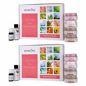 Herbline Instant Glow Glabra 180gm-Pack Of-2