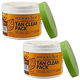 Herbline Tan Clear Pack 400gm Pack of -2