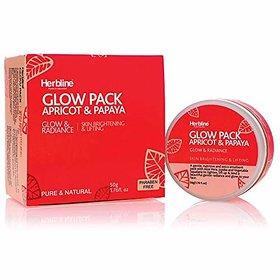 Herbline Glow Pack Apricot amp Papaya 50gm