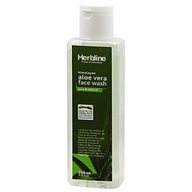 Herbline Aloevera Face Wash 200ml