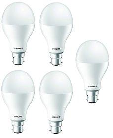 Philips Stellar Bright 20W LED Bulb 6500K (Cool Day Light) - Pack of 5