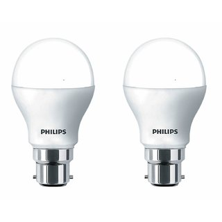 Philips Ace Saver 9W LED Bulb 6500K (Cool Day Light) - Pack of 2