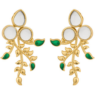 Voylla Pure Spring Corolla Earrings
