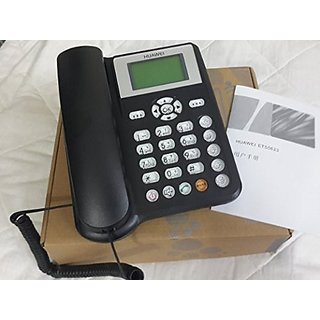 HUAWEI ETS5623 CORDED LANDLINE PHONE ( BLACK )