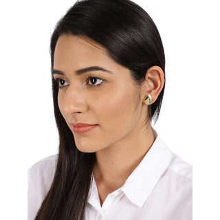 Zaveri Pearls Combo of 3 Gold Tone Casual Wear Stud Earring-ZPFK8462