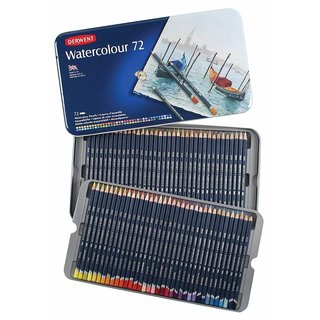 DERWENT Watercolour Pencils Tin (Set of 72)