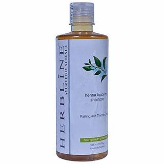 Herbline Henna Liquorice Shampoo 500ml